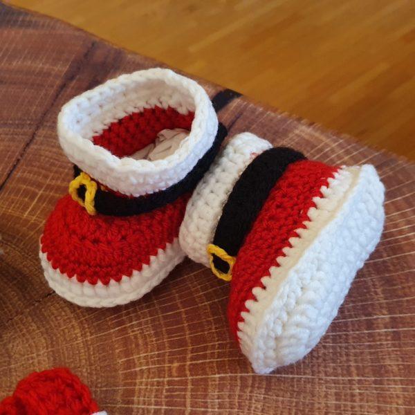 Babykostüm Weihnachten Stiefel