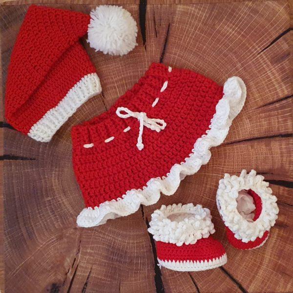 Babykostüm Weihnachten Maedchen
