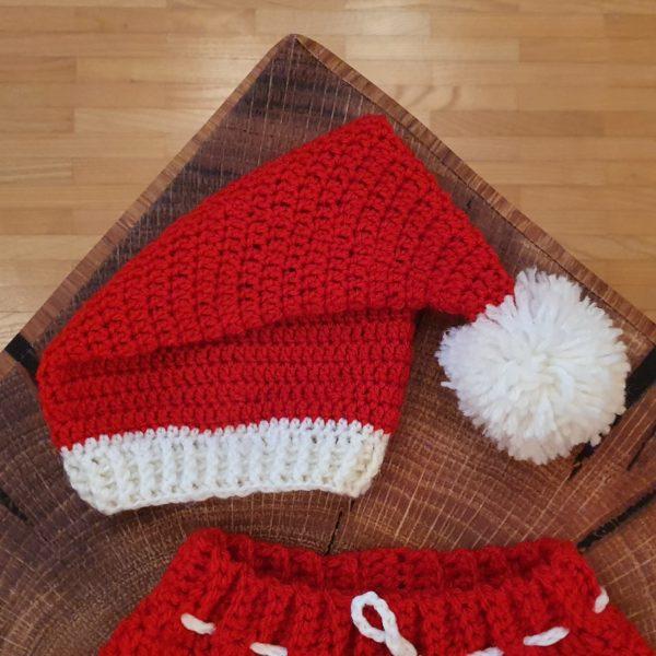 Babykostüm Weihnachten Mütze