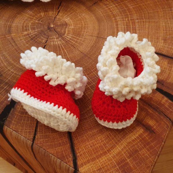 Babykostüm Weihnachten Schuhe